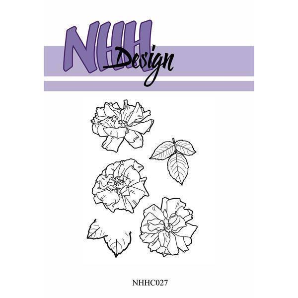 NHH Design Clearstamp - Flower-5
