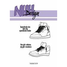 NHH Design Clearstamp - Sneakers