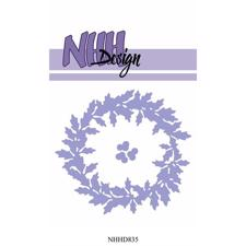 NHH Design Die - Holly Wreath