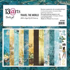 "13@rts Paper Pack 12x12"" - Travel the World"