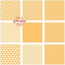 GummiApan Paper Pack 14,5x14,5 cm - Orange