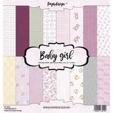 "PapirDesign 12x12"" Paper Pack - Baby Girl"