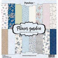 "PapirDesign 12x12"" Paper Pack - Flower Garden"