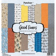 "PapirDesign 12x12"" Paper Pack - Good Times"