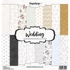 "PapirDesign 12x12"" Paper Pack - Wedding"