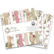 "P13 (Piatek) Scrapbooking Paper Pack 12x12"" - Always and Forever"