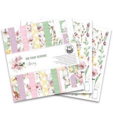 "P13 (Piatek) Scrapbooking Paper Pack 12x12"" - The Four Seasons / Spring"