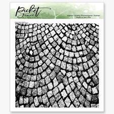 Picket Fence Studios Clear Stamp - Cobblestone Path