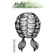 Picket Fence Studios Clear Stamp - French Braids