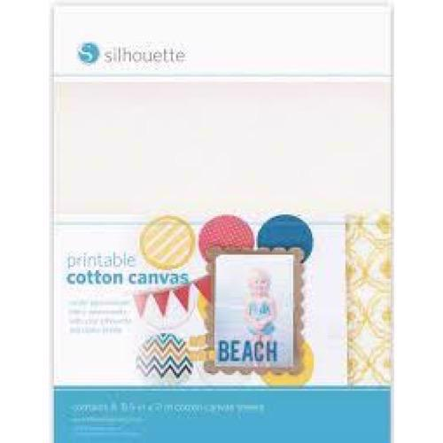 Silhouette Inkjet Printable Canvas Material