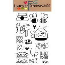 Paper Smooches Clear Stamp Set - Bee Mine