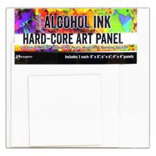 "Ranger Alcohol Ink Hard Core Art Panels - Square 3-pack (4"", 6"" & 8"")"