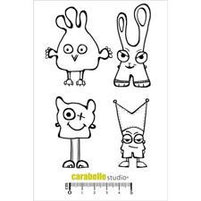 Carabelle Studio Cling Stamp Large - Les mini OUF 1