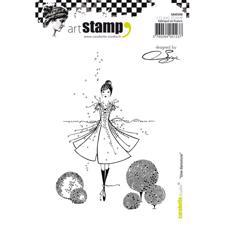 Carabelle Studio Cling Stamp Large - Une Danseuse