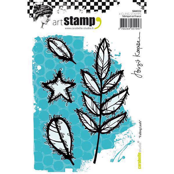 Carabelle Studio Cling Stamp Large - Falling Leafs