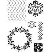 Clear Stamp Set - Ornaments