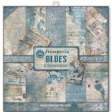 "Stamperia Paper Pack 12x12"" - Blues"