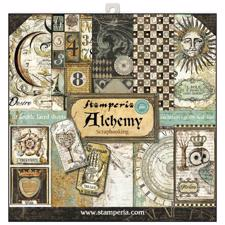 "Stamperia Paper Pack 12x12"" - Alchemy"