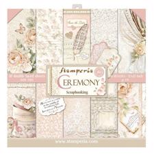 "Stamperia Paper Pack 12x12"" - Ceremony"