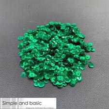 Simple and Basic Sequins (Pailetter) - Green