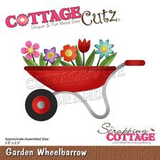 Cottage Cutz  Die - Garden Wheelbarrow