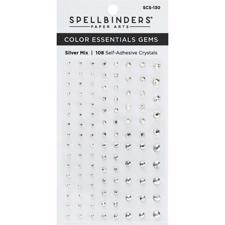 Spellbinders Color Essentials Gems - Silver Mix