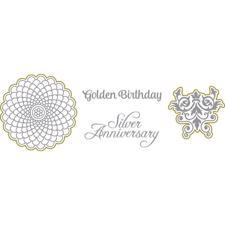 Richard Garay Stamp & Die Set - Golden Birthday