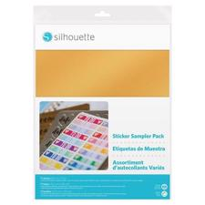Silhouette Sticker Sampler Pack (11 ark)