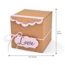 Sizzix Bigz XL Die - Gift Box with Scallop Edges (Eileen Hull)