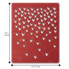 Sizzix Thinlits - Tim Holtz / Falling Hearts