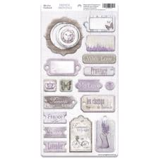 ScrapMir Chipboard Pieces - French Provence