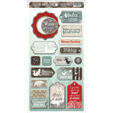 ScrapMir Chipboard Pieces - Nordic Spirits