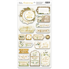 ScrapMir Chipboard Pieces - Tenderness