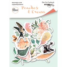 ScrapMir Ephemeras (cut-outs) - Peaches & Cream