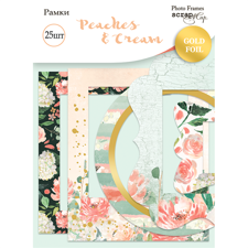 ScrapMir Photo Frames - Peaches & Cream