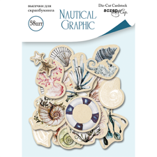 ScrapMir Ephemeras (cut-outs) - Nautical Graphic