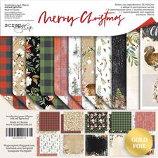 "ScrapMir Paper Pack 12x12"" - Merry Christmas"