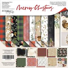 "ScrapMir Paper Pack 8x8"" - Merry Christmas"
