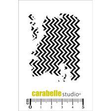 Carabelle Studio Cling Stamp Mini - Textures Chevrons