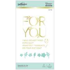 Spellbinders Hot Foil Plate - Especially for You