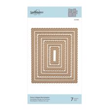 Spellbinders Die -  Fancy Edged Rectangles