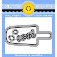 Sunny Studio Stamps - DIES / Perfect Popsicles