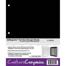 EZ / Crafter's Companion Storage - Magnetic Sheets for Dies (FULL size)