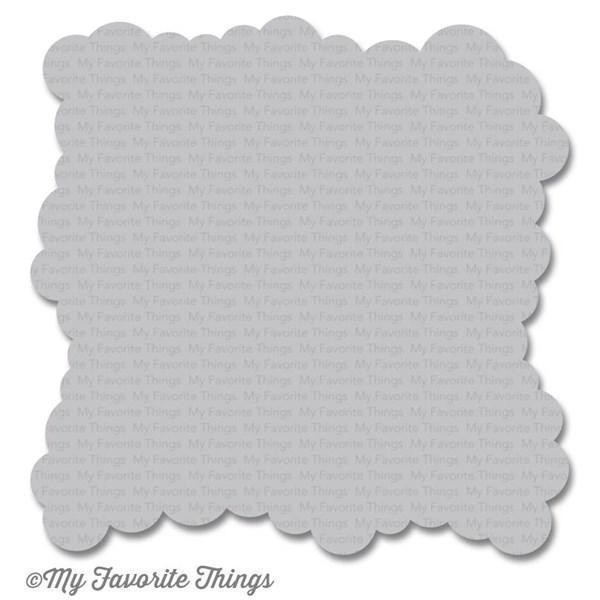 My Favourite Things Stencil (plast) - Cloud MINI Edge