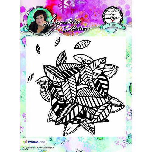 Art by Marlene - Cling Stamp Background no. 10