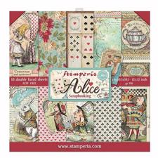 "Stamperia Paper Pack 12x12"" - Alice"