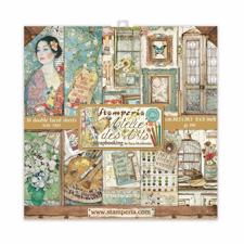 "Stamperia Paper Pack 8x8"" - Atelier des Arts (lille)"