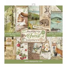 "Stamperia Paper Pack 12x12"" - Forest"