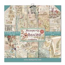 "Stamperia Paper Pack 12x12"" - Imagine"
