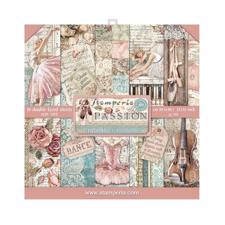 "Stamperia Paper Pack 12x12"" - Passion"